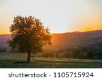 quiet and peaceful view of...   Shutterstock . vector #1105715924