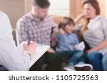 hand of a professional family...   Shutterstock . vector #1105725563
