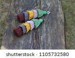 tropical color five tiered... | Shutterstock . vector #1105732580
