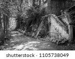 old abandoned sanatorium | Shutterstock . vector #1105738049