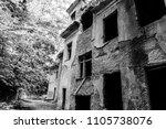 old abandoned sanatorium | Shutterstock . vector #1105738076