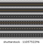 horizontal straight seamless... | Shutterstock .eps vector #1105752296