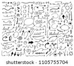 collection of more than one... | Shutterstock .eps vector #1105755704
