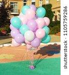 A Huge Cloud Of Balloons Mint ...