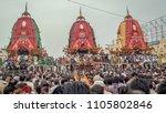 puri  orissa  india   august 9  ... | Shutterstock . vector #1105802846