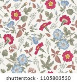 seamless pattern. beautiful... | Shutterstock .eps vector #1105803530