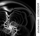 strange abstract background.... | Shutterstock . vector #1105823249