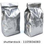 foil bag package. foil... | Shutterstock . vector #1105836083