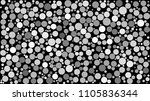 abstract background of circles... | Shutterstock .eps vector #1105836344