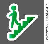 Vector Colored Sticker  Icon O...