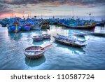 Fishing Boats In Marina At Pha...