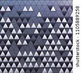 monochrome abstract 3d... | Shutterstock . vector #1105889258