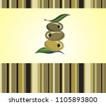 olive icon. elegant vector...   Shutterstock .eps vector #1105893800
