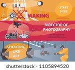 vector horizontal banners... | Shutterstock .eps vector #1105894520
