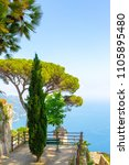 ravello  panorama over the... | Shutterstock . vector #1105895480