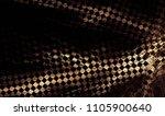 unusual geometric abstract... | Shutterstock . vector #1105900640