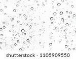 rain drops on window glasses... | Shutterstock . vector #1105909550