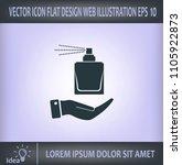 perfume  eau de toilette ... | Shutterstock .eps vector #1105922873