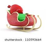 Santa Sleigh And Santa's Sack...