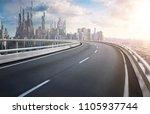 3d rendering futuristic concept ...   Shutterstock . vector #1105937744