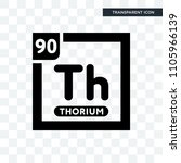 thorium vector icon isolated on ... | Shutterstock .eps vector #1105966139