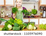 buying healthy dieting food... | Shutterstock . vector #1105976090