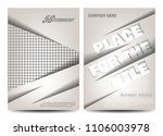 brochure design. flyer template.... | Shutterstock .eps vector #1106003978