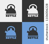 vector kettle icon. | Shutterstock .eps vector #1106006228