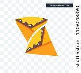 crepe vector icon isolated on... | Shutterstock .eps vector #1106018390