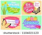 best spring sale 70  off super... | Shutterstock .eps vector #1106021123