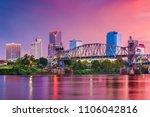 little rock  arkansas  usa... | Shutterstock . vector #1106042816
