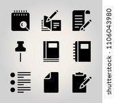 basic business icon set. vector ...