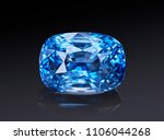 luxury blue transparent... | Shutterstock . vector #1106044268