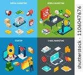 digital online and mobile... | Shutterstock .eps vector #1106047676