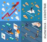 accelerate business 2x2 design... | Shutterstock .eps vector #1106047868