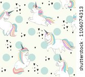 vector seamless pattern with...   Shutterstock .eps vector #1106074313