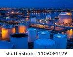 big industrial estate  a lot of ... | Shutterstock . vector #1106084129
