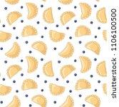 dumplings  pierogi  varenyky ...   Shutterstock .eps vector #1106100500