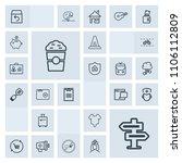 modern  simple  grey vector...   Shutterstock .eps vector #1106112809