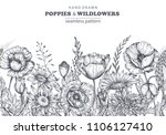 vector seamless pattern with... | Shutterstock .eps vector #1106127410