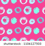 colorful brush painted strokes  ... | Shutterstock .eps vector #1106127503