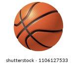 3d illustration   balls bitmap... | Shutterstock . vector #1106127533