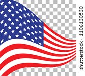 happy flag day.  illustration... | Shutterstock .eps vector #1106130530