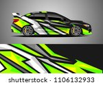car decal vector  graphic...   Shutterstock .eps vector #1106132933