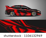 car decal vector  graphic...   Shutterstock .eps vector #1106132969