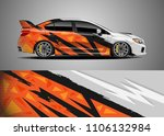 car decal vector  graphic...   Shutterstock .eps vector #1106132984