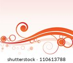 vector spring autumn abstract... | Shutterstock .eps vector #110613788