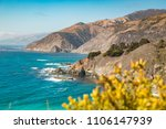 scenic view of rugged coastline ... | Shutterstock . vector #1106147939