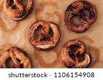 traditional german savory lye... | Shutterstock . vector #1106154908
