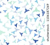 seamless vector pattern with... | Shutterstock .eps vector #1106187269